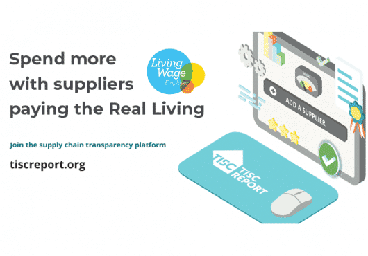TISCreport Living Wage Supplier Campaign